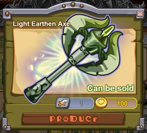 Light Earthen Axe