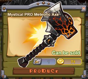 Mystical PRO Meteoric Axe