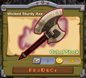 Wicked Sturdy Axe