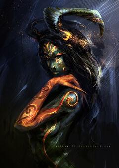 Demon queen 01 by aditya777-d41owak