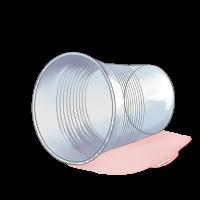 Trash Empty Cup