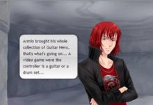 Castiel talking about Armin