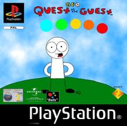 Geo Quest to the Guest PS1 cover PAL