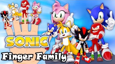 Sonic Finger Family Nursery Rhymes 2D Animation From TanggoKids Nursery Rhymes