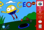 Geo (1996 video game) N64 Cover Art (NTSC)