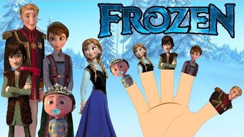 FROZEN Finger Family Nursery Rhymes for Kids MY FINGER FAMILY RHYMES