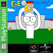 Geo Adventure PS1 GH cover