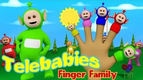 3D TELEBABIES Finger Family Red Rocket Channel