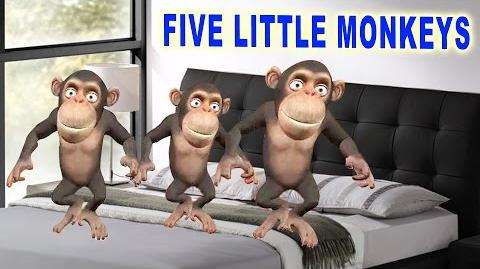 Five Little Monkeys Song Popular Animated Rhyme for Babies Best Kids Song English Rhyme