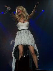 "Carrie Underwood on her ""Blown Away Tour"""