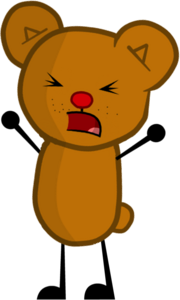 Teddy Bear from Inanimate Insanity