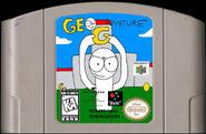 Geo Adventure N64 Cartridge