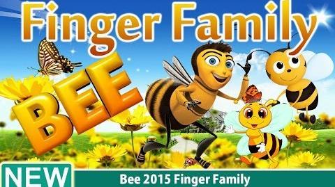 Bee 2015 Finger Family Nursery Rhyme for Children 4K Video
