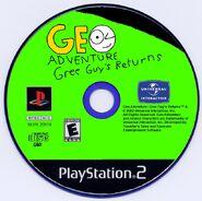 Geo Adventure Gree Guy's Returns PS2 disc NTSC