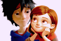 Hiro and penny by babyalvigx-d8ayj1q