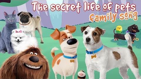 The Secret life of pets Finger Family Max, Gidget, Mel Nursery Rhymes for children-0