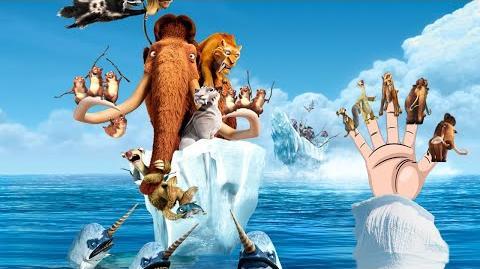 Finger Family Ice age Cartoon Nursery Rhyme