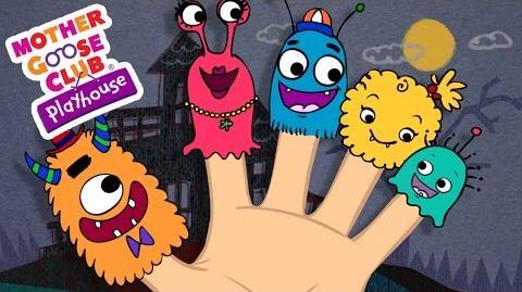 Halloween Songs Finger Family Monster Finger Family Mother Goose Club Playhouse Kids Song