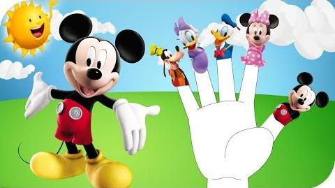 Mickey Mouse Finger Family Nursery Rhyme
