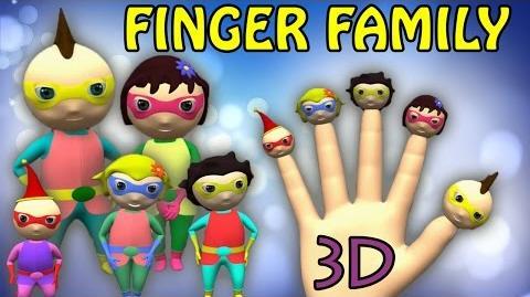 Superheroes Finger Family Nursery Rhymes 3D Animation Daddy Finger Rhyme