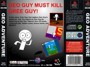 Geo Adventure PS1 back cover PAL