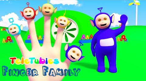 Teletubbies Finger Family Nursery Rhymes 3D Animation In HD From Binggo Channel