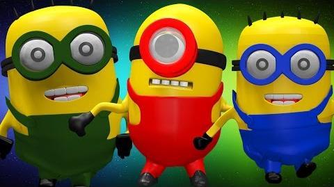 Minions 3D Cartoons Finger Family Children Nursery Rhymes Minions Cartoon Finger Family Rhymes