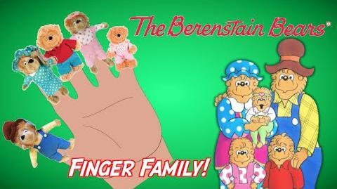 BERENSTAIN BEARS - Finger Family Song Nursery Rhyme Toy PARODY Episode Finger Family Fun