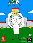 Geo Adventure PC cover NTSC