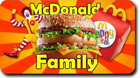 Finger Family McDonald Song Rhyme Burger finger family for Childrens Babies and Toddlers