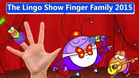 The Lingo Show Finger Family 2015 Nursery Rhyme Kids Song Daddy Finger 4K