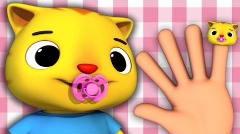 Finger Family - Cat Family Nursery Rhymes HD Version