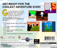 Geo Adventure PS1 back cover NTSC