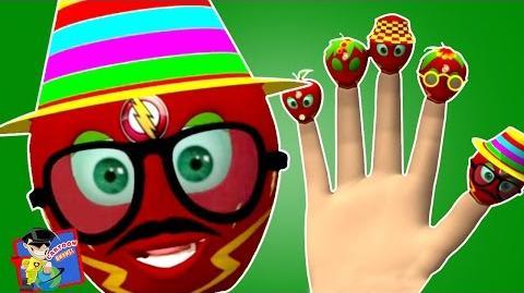 Flash Apple Finger Family Super Hero Finger Family Finger Family Rhymes Cartoon Rhymes