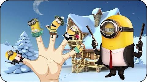 Finger Family Minions Nursery Rhymes for Children Kids Songs