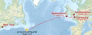 330px-Titanic voyage map
