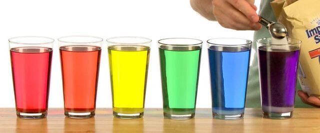 File:Las tazas con agua con muchos colores.jpg