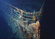 250px-Titanic wreck bow
