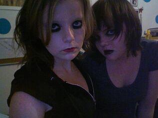 Tara and Raven