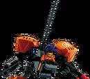 Exo-Force Battle Support Uplink Sticker