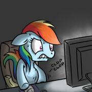 34588 - clop computer rainbow dash