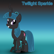Twilight Sparkle (changeling) wallpaper
