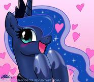 Cute Priness Luna by artist-johnjoseco