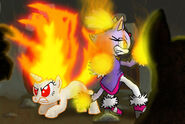 74263 - blaze the cat crossover Sonic the Hedgehog twilight sparkle