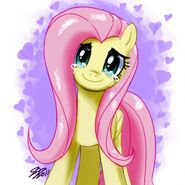Normal fluttershy crying