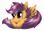 Scootaloo hug please by corruptionsolid-d4gn7at