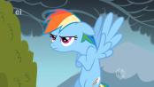 174px-A grumpy Rainbow Dash