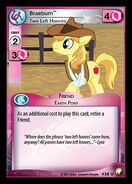 Braeburn, Two Left Hooves