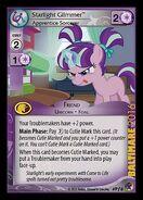 Starlight Glimmer, Apprentice Sorcerer (Marks in Time Promo)