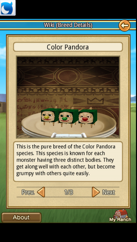 Color Pandora